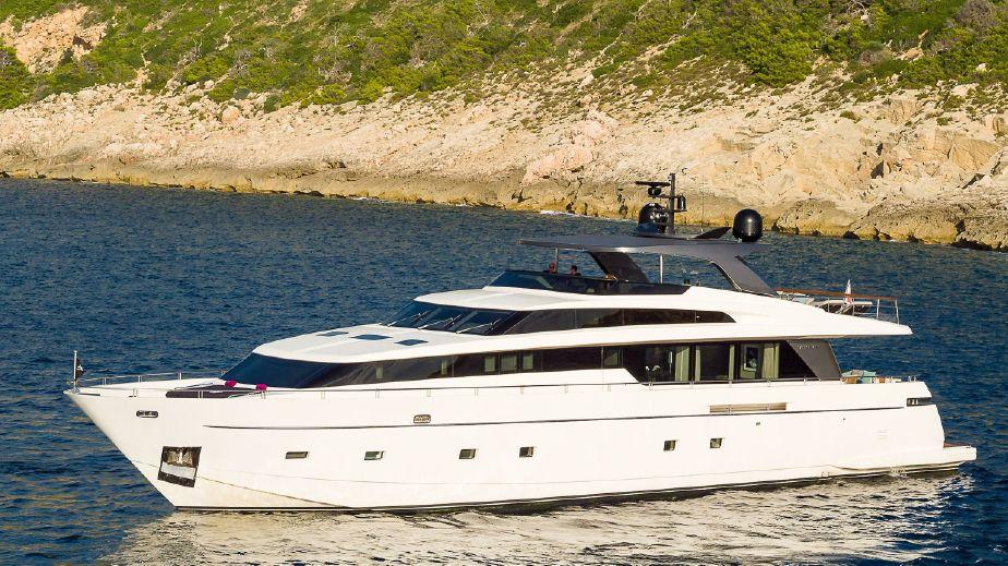 San Lorenzo SL104 | 2012/2016 refit | French Riviera | 6 Weeks p.a. | €765,000