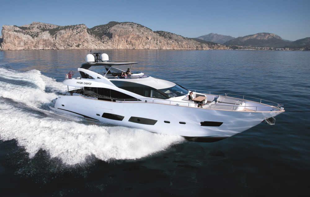 Sunseeker 88 (28m)   2014   Corsica – Sardinia – Mallorca   6 weeks £450,000