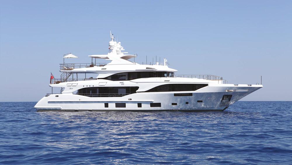 Benetti Mediterraneo 116   Italian Riviera   1/4 Share   7 Weeks p.a.  €3,250,000