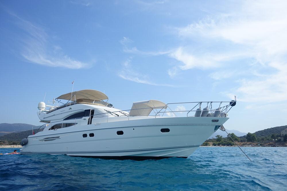Princess 61 | Cote d'Azur – Cannes | 8 Weeks p.a. | £50,000